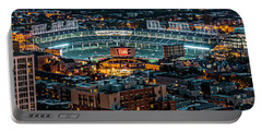 Wrigley Field From Park Place Towers Dsc4678 Portable Battery Charger