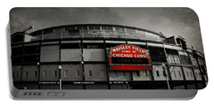 Wrigley Field Home Of The Chicago Cubs Portable Battery Charger