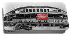 Wrigley Field - Home Of The Cubs C. 1939 Portable Battery Charger