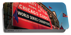 Wrigley Field World Series Marquee Angle Portable Battery Charger
