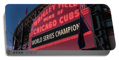 Wrigley Field World Series Marquee Portable Battery Charger