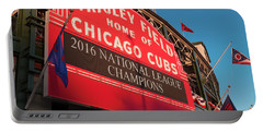 Wrigley Field Marquee Angle Portable Battery Charger