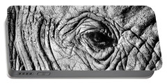 Wrinkled Eye Portable Battery Charger