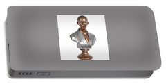 Obama Bronze Bust Portable Battery Charger by Dothlyn Morris Sterling