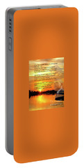 Writer, Artist, Phd. Portable Battery Charger by Dothlyn Morris Sterling