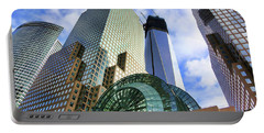 Wtc Nyc Construction I Portable Battery Charger