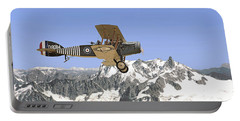 Portable Battery Charger featuring the photograph Ww1 - Bristol Fighter by Pat Speirs