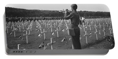 Wwii Taps Memorial Service Portable Battery Charger