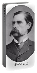 Wyatt Earp Autographed Portable Battery Charger