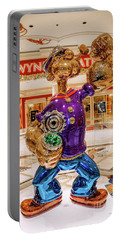 Wynn Popeye Statue By Jeff Koons Portable Battery Charger