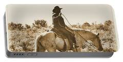 Wyoming Cowboy Portable Battery Charger