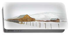 Wyoming Ranch Portable Battery Charger