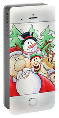 Xmas Selfie Portable Battery Charger