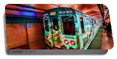 Xmas Subway Train Portable Battery Charger