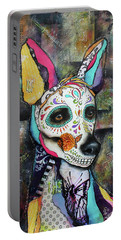 Xolo Mexican Hairless Day Of The Dead Portable Battery Charger