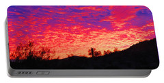 Y Cactus Sunset 1 Portable Battery Charger