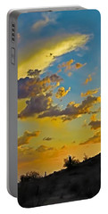 Y Cactus Sunset 10 Portable Battery Charger