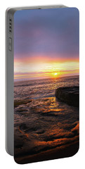 Yachats Sunset Portable Battery Charger
