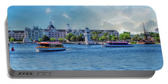 Yacht And Beach Club Walt Disney World Portable Battery Charger