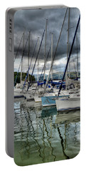 Yachts On Lake Windermere Portable Battery Charger
