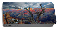Yaki Point Grand Canyon Portable Battery Charger by Anthony Dezenzio