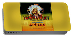 Portable Battery Charger featuring the painting Yakima Chief Apples by Peter Gumaer Ogden