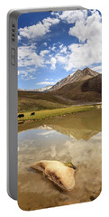 Yaks In Ladakh Portable Battery Charger
