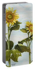 Yana's Sunflowers Portable Battery Charger