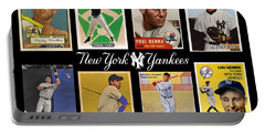 Yankee Cardboard Greats Portable Battery Charger