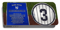 Yankee Legends Number 3 Portable Battery Charger by David Lee Thompson