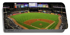 Yankee Stadium 1 Portable Battery Charger by Nishanth Gopinathan
