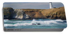 Yaquina Head Lighthouse On The Oregon Coast Portable Battery Charger