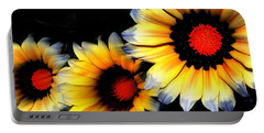 Yard Flowers Portable Battery Charger