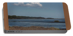 Yawkey Wildlife Reguge - View From The Causeway Portable Battery Charger by Suzanne Gaff