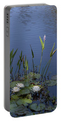 Yawkey Wildlife Reguge Water Lilies With Rare Plant Portable Battery Charger