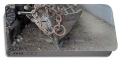 Portable Battery Charger featuring the photograph Ye Old Fishing Boat by Fran Riley