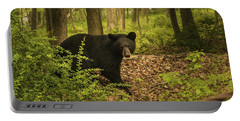 Yearling Black Bear Portable Battery Charger