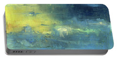 Portable Battery Charger featuring the painting Yearning Tides by Michal Mitak Mahgerefteh
