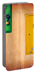 Portable Battery Charger featuring the photograph Yellow And Green by Silvia Ganora