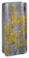 Yellow Aspen Tree Portable Battery Charger