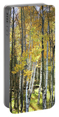 Yellow Aspens Portable Battery Charger