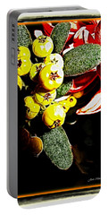 Portable Battery Charger featuring the photograph Yellow Berries by Joan  Minchak
