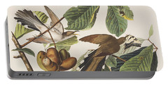 Yellow Billed Cuckoo Portable Battery Charger by John James Audubon