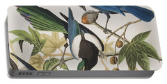 Yellow-billed Magpie Stellers Jay Ultramarine Jay Clark's Crow Portable Battery Charger