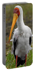 Portable Battery Charger featuring the photograph Yellow-billed Stork by Betty-Anne McDonald