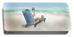 Yellow Bird Beach Selfie Portable Battery Charger