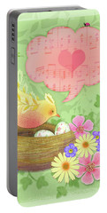 Yellow Bird's Love Song Portable Battery Charger