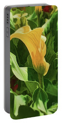 Yellow Calla Lilly Portable Battery Charger