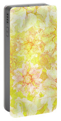 Yellow Camellia Hedges Portable Battery Charger