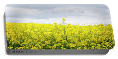 Portable Battery Charger featuring the photograph Yellow Canopies by Ivy Ho
